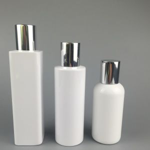 High Quality Pet Plastic Square Cosmetic Bottle Cylinder Cosmetic Bottle Round Cosmetic Bottle