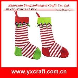 Christmas Decoration (ZY14Y358-1-2) Christmas Socks Ornament Elves Christmas pictures & photos