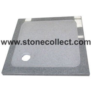 Natural Granite Shower Trays of Antislipping in Bathroom pictures & photos
