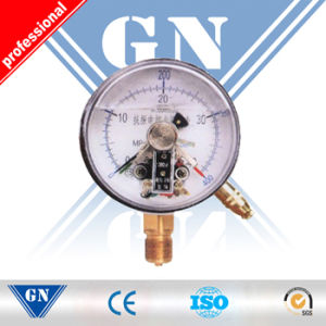 Cx-Pg-Sp Electric Contact Silicone Filled Pressure Gauge (CX-PG-SP) pictures & photos