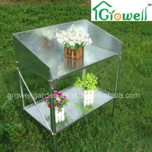 Galvanized Steel Staging Greenhouse Accessories (770LX400WX1000H(MM)) pictures & photos