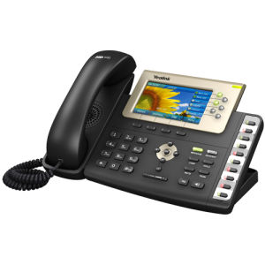 Color HD PBX Phone System 6 Line Poe High Quality Yealink SIP-T38g SIP IP Phone