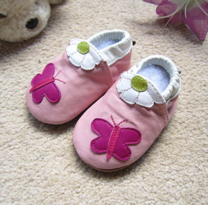 Soft leather Baby Shoes pictures & photos