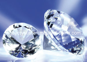Crystal Diamond Paperweight for Wedding Decoration pictures & photos