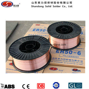 Aws a 5.18 Er70s-6 Welding Wire (ER70S-6/ SG2/ YGW12 / A18/ G3Si1) pictures & photos
