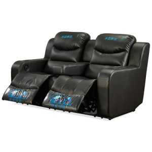China Electric Recliner Sofa 4 Seaters