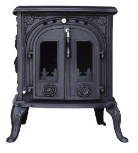 Cast Iron Stove, Wood Burning Fireplace (FIPA046)