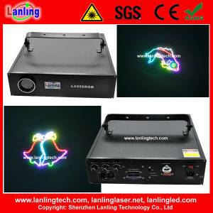 3W RGB Ilda Animation Laser Stage Light pictures & photos