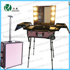 Professional Cosmetic Makeup Case with Light pictures & photos