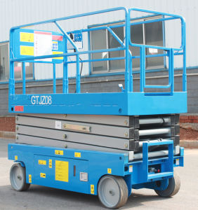 8m Electric Scissor Lift (GTJZ08) pictures & photos
