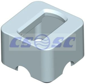 China ISO Raised Foundation (A5-1C) - China container fixed