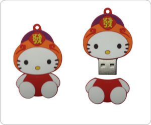 USB Flash Memory Drive Disk with Hello Kitty Shape