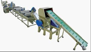 CE/SGS/ISO9001 PP and PE Washing, Crushing, Drying and Recycling Line pictures & photos