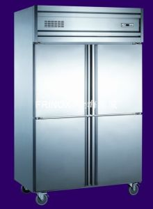 4 Door Kitchen Upright Refrigerator