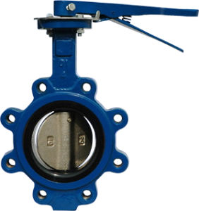 Full Lugged Butterfly Valve with Manual Operator pictures & photos
