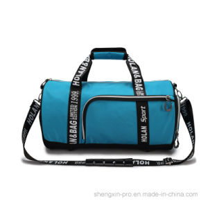 Blue Outdoor Bag Sport Bag with Two Handles