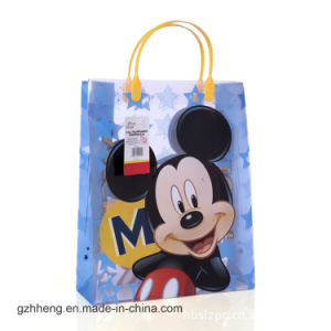 Customized cartoon printing promotional plastic gift bag(PVC bags) pictures & photos