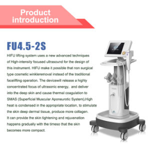 2015 Non Invasive High Frequency and High Intensity Hifu Untrasonic Beauty Equipment for Skin Tighten and Body Slimming (13mm) (Fu4.5-2s) pictures & photos