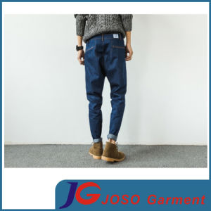 Three-Dimensional Cutting Harlan Skinny Jeans for Men (JC3395) pictures & photos