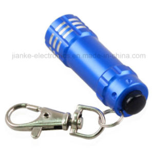 Bulk Cheap Aluminum 9 LED Keychain with Logo Printed (4080)