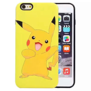Pikachu Painting Mobile Phone Combo Case for iPhone 6