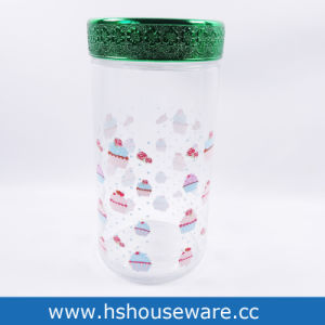 1PC Glass Canister for Coffee Sugar Tea