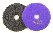 100mm Flexible Diamond Hand Polishing Pads pictures & photos