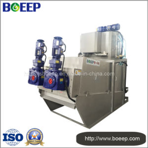 Mobile Design Water Treatment Screw Press Dewatering Machine pictures & photos