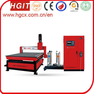 Gantry Structure Cabinet Gasket Sealing Machine pictures & photos