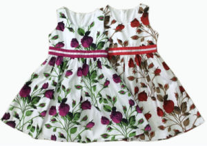 Children Clothing Girl Dress Baby Dress Skirt, Kids Wear (SQD-108)