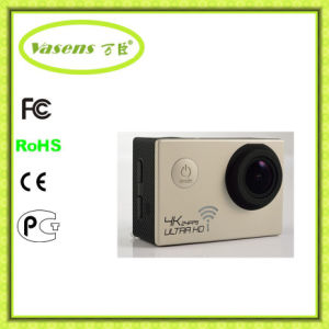CE RoHS, WiFi H. 264 60fps Full HD 1080P Mini Sport Camera DVR