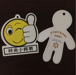 Die Cutting Cartoon Shape Hangtags for Toys (GT-014) pictures & photos