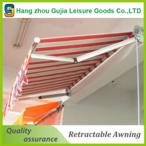 Retractable Awning with Steel Hand-Crank (HZ-GJ010212)