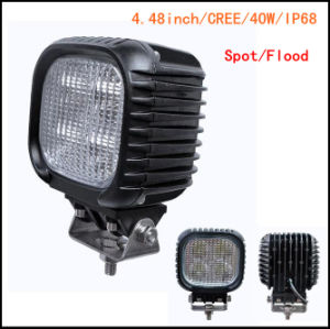 40W Squar Flood Beam LED Work Light for Jeep pictures & photos