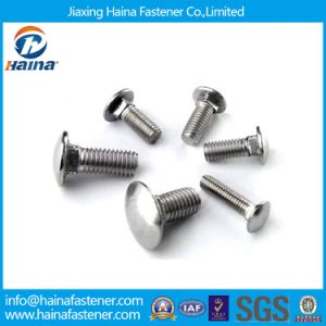 DIN603 Zinc/Galvanized Carbon Steel Mushroom Head Square Neck Bolt Carriage Bolts pictures & photos