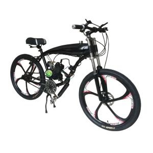 2 4l Gas Frame 26inch Mag Wheel Motorized Bicycle Fuel Gasoline Motor Engine