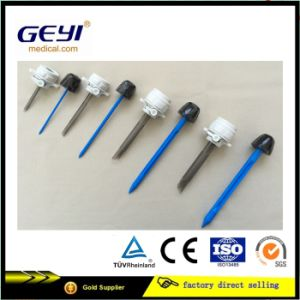 Geyi Disposable Surgical Laparoscopic Trocar 5mm with Cannular CE Certification pictures & photos