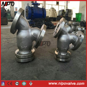 Cast Steel Flanged Y Type Filter pictures & photos