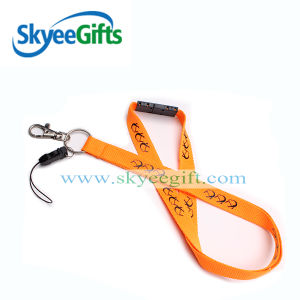 Nylon Mobile Phone Strap Customized Lanyards with Safety Neck pictures & photos