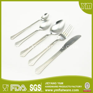Stainless Steel Cheap Knife Spoon Fork Tea Spoon Set