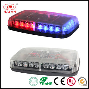 Mini Warning Light Bar LED Tough Magnet Car Roof Light Bars for Emergency pictures & photos