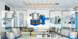 500 T/D Waste Paper Repulping Recycle Paper Stock Preparation Line pictures & photos
