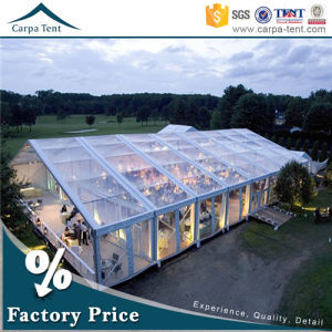 18m Width Large Transparent Aluminum Church Marquee Tents pictures & photos