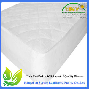 Ultra-Soft Fitted Crib Mattress Protector pictures & photos