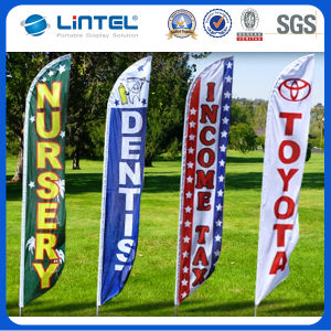 Hot Selling Feather Flag Banner for Trade Show (LT-17C) pictures & photos