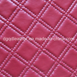 Embossed High Quality Sofa PU Leather (QDL-52020) pictures & photos