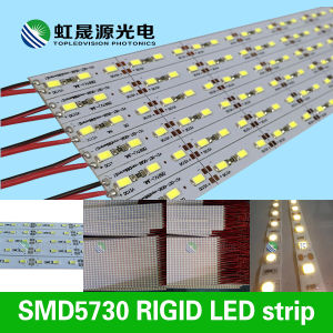 72LEDs/M 55-60lm/LED High Quality SMD5630/5730 Rigid LED Strip Light pictures & photos