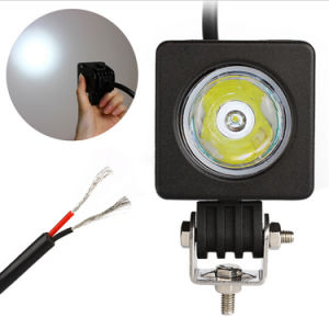 2 Inch 10W CREE LED Square Flood Spot Work Light 12V 800lm Waterproof for Bicycle Motorcycle Truck 4X4 Offroad pictures & photos