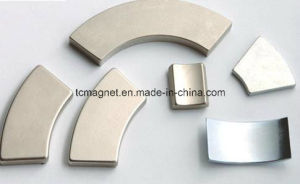 38sh Arc NdFeB Neodymium Permanent Magnet for Motor Asemblies