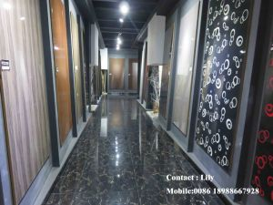Wooden Colour PVC Vacuum MDF Door (FY089) pictures & photos